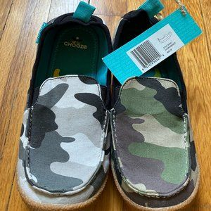 CHOOZE Scout slip-on shoes 3Y camo